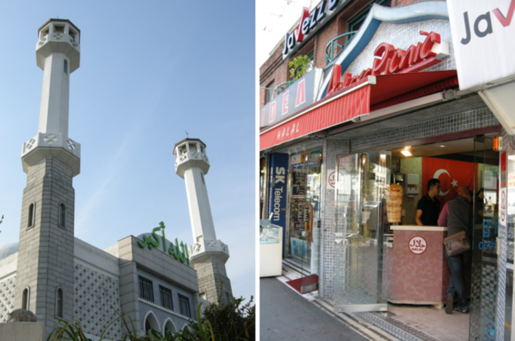 Seoul creates a halal food culture street in Itaewon